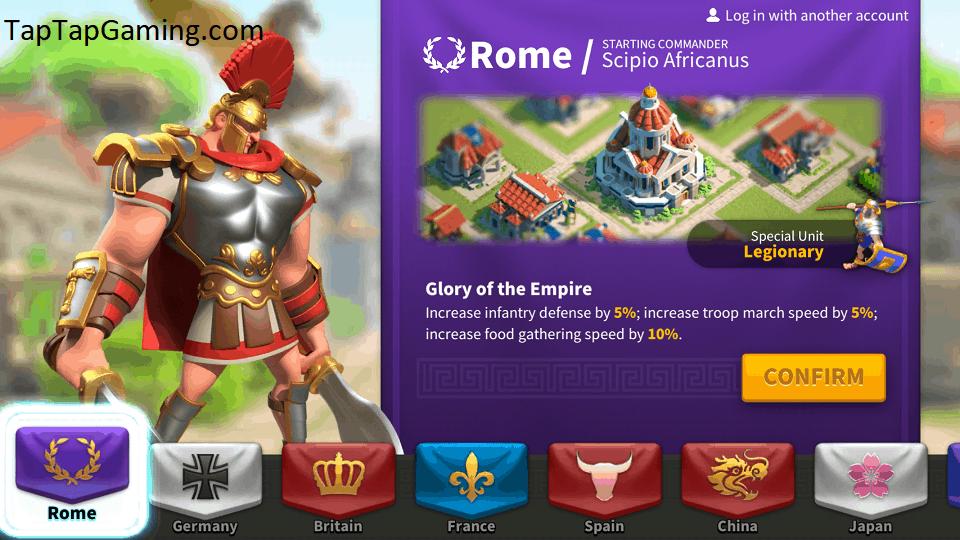 Romans ROC