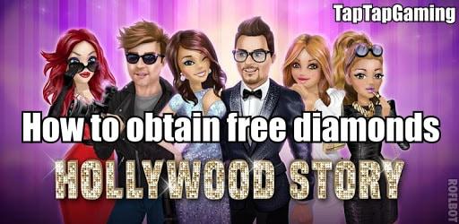 hollywood story obtain free diamonds