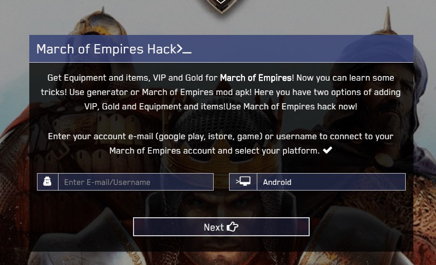 march of empires hack 1 screenshot