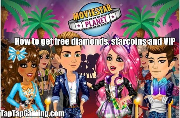 moviestarplanet free diamonds, star coins and vip