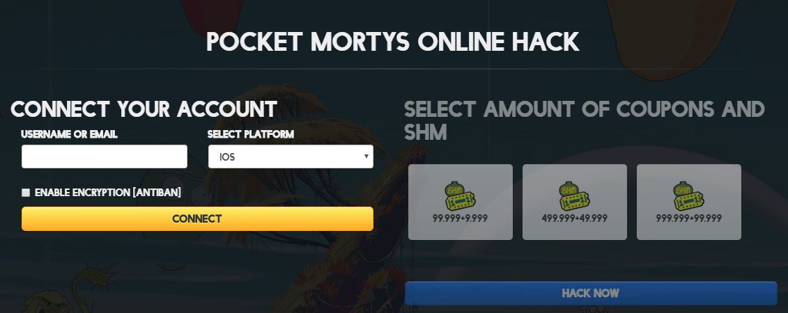 pocket mortys mod apk unlimited coupons
