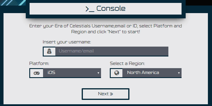 hack for era of celestials screenshot