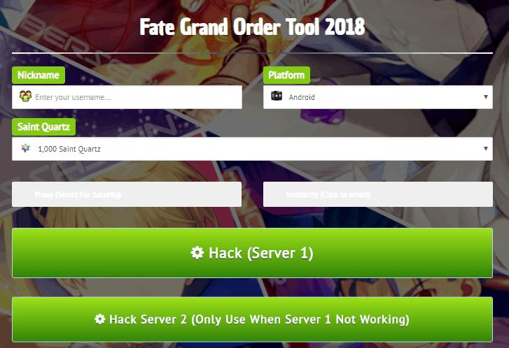 fate/grand order cheats