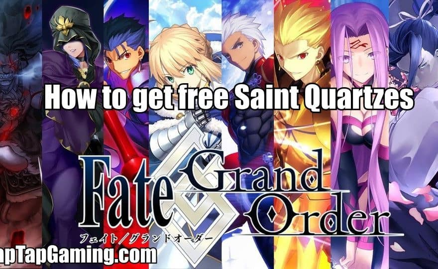 fate/grand order free saint quartzes