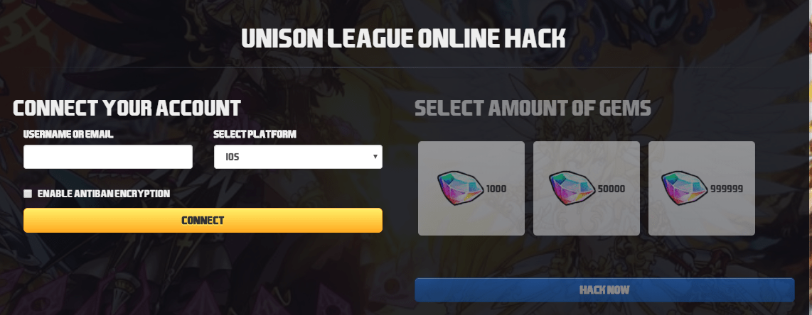 unison league hack