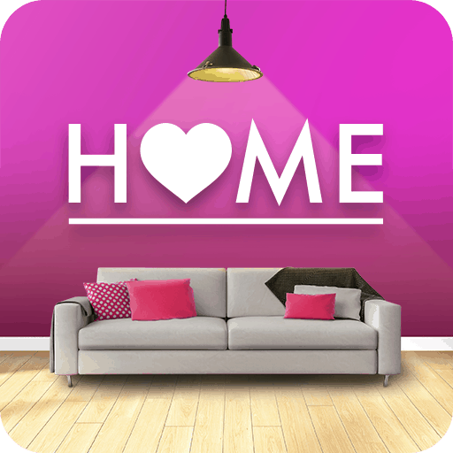 home design makeover logo