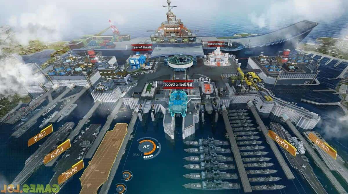 battle warship naval empire screenshot
