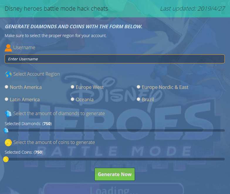 disney heroes battle mode hack