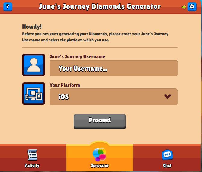 june's journey hack tool screenshot