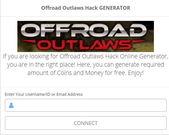 offroad outlaws cheats screenshot