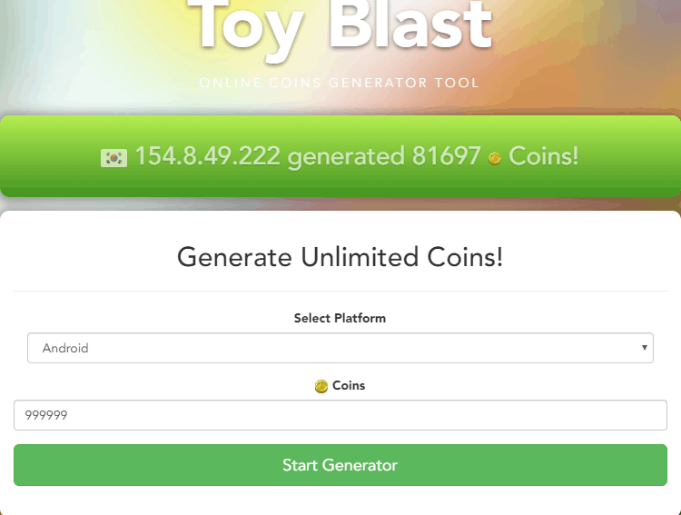 Toy Blast Cheats: Do Coin Hacks really work? | TapTapGaming