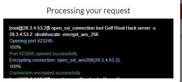 golf rival cheats screenshot