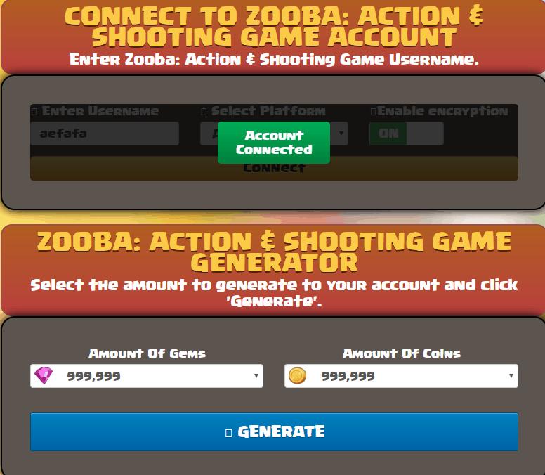 Zooba gem hack screenshot