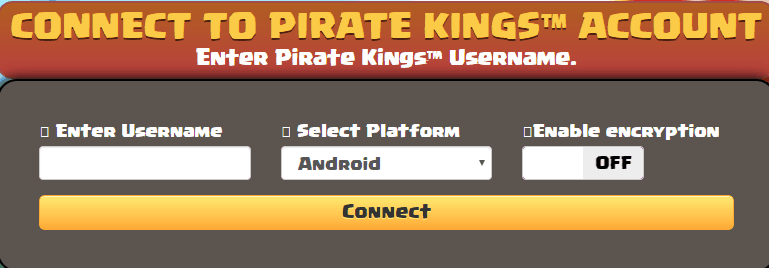 Pirate Kings Generator connect